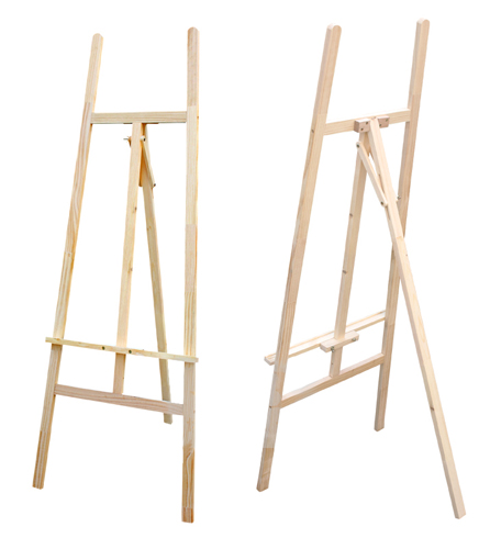 wood plans easel