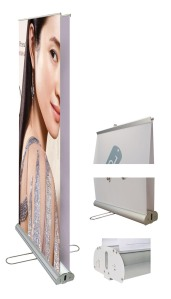 Double Side Roll Up Stand