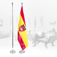 Flying Flag Banner Stand Display System Supply Banner