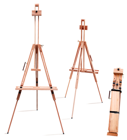 plans for wooden easel