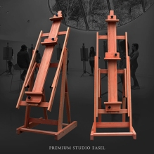 Premium studio wood easel