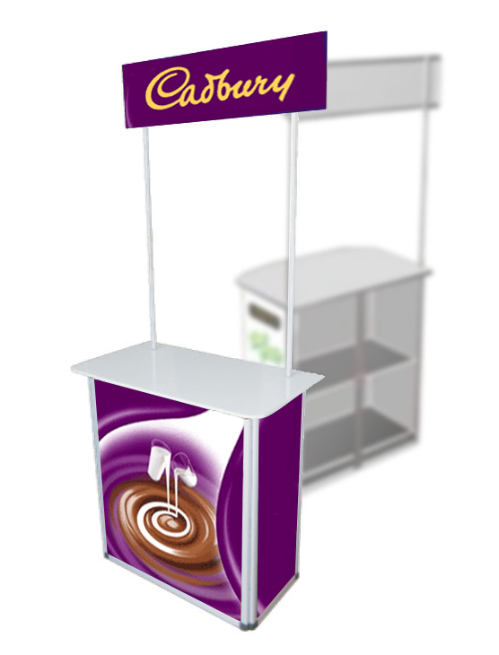 PVC counter / Booth / Table | Display System Supply-Banner