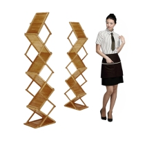 Zig Up Bamboo Brochure Stand