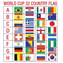 worldcup country flag
