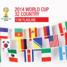 Worldcup flagline