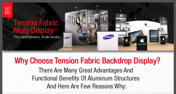Tension Fabric Display Benefit