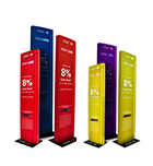 Slim Mobile brand Sign stand