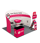 tension fabric booth display