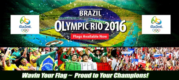 brazil rio olympic game 2016 flag sale